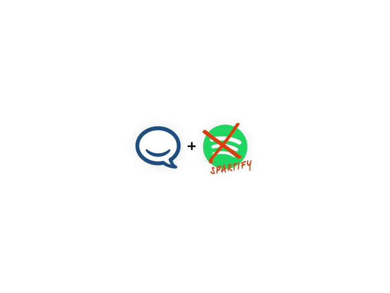 Hipchat + Spotify/Spartify