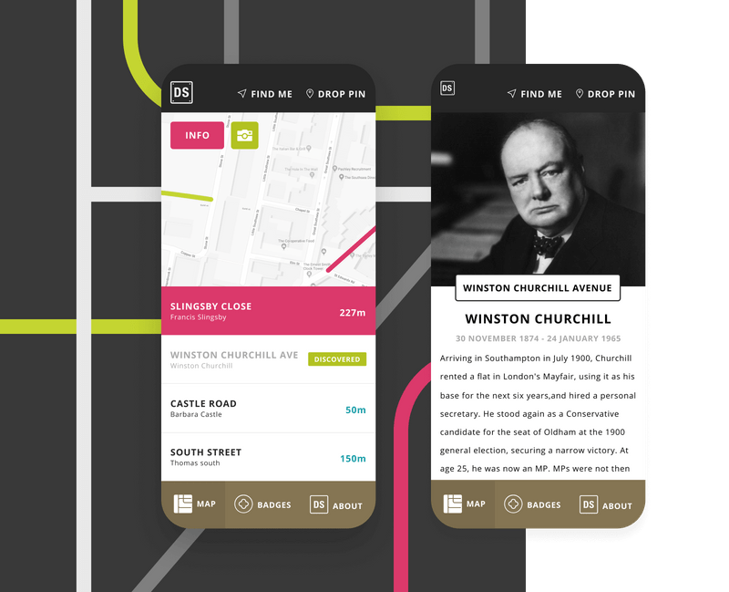 Democracy Street website design