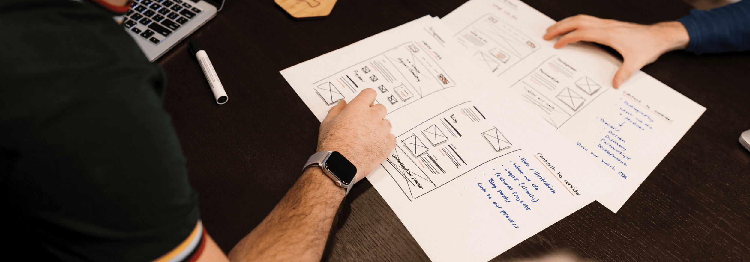 hands on wireframes