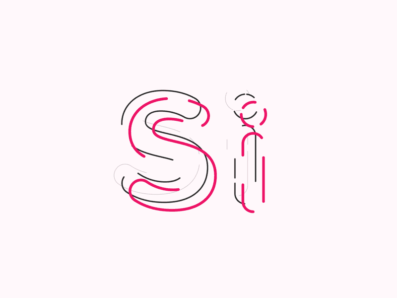 Si symbol type animated